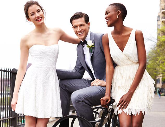 City Hall Bound Wedding Gown Alternatives at MYHABIT