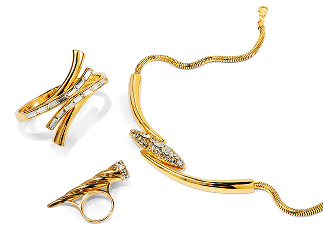 Gleaming in Gold Jewelry at MYHABIT