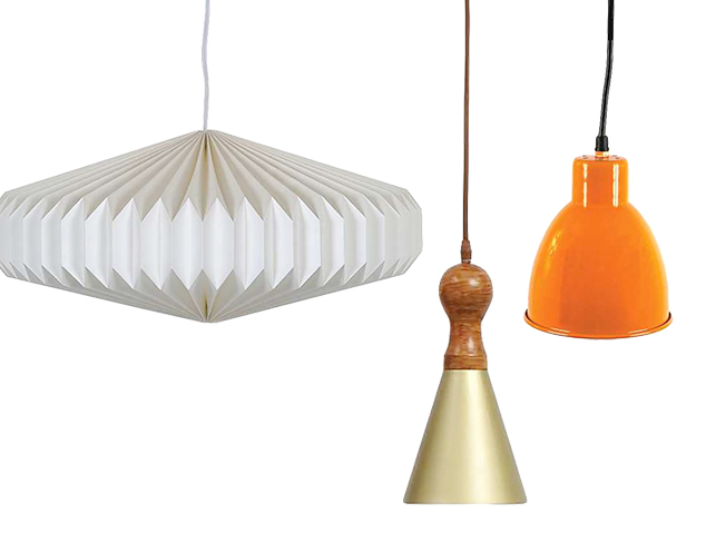 Lit from Above Pendant Lighting at MYHABIT