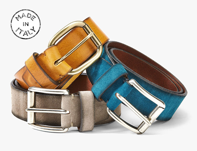 Made in Italy Bolliver Belts at MYHABIT