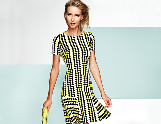 Make an Impression Printed Dresses at MYHABIT