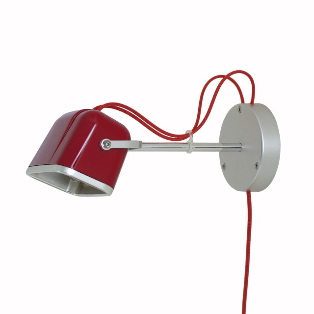 SWAB Design Mob Wall Lamp // Red & Red Cord