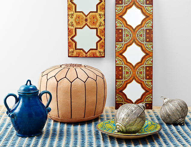 Moroccan-Inspired Décor Up to 70% Off at MYHABIT