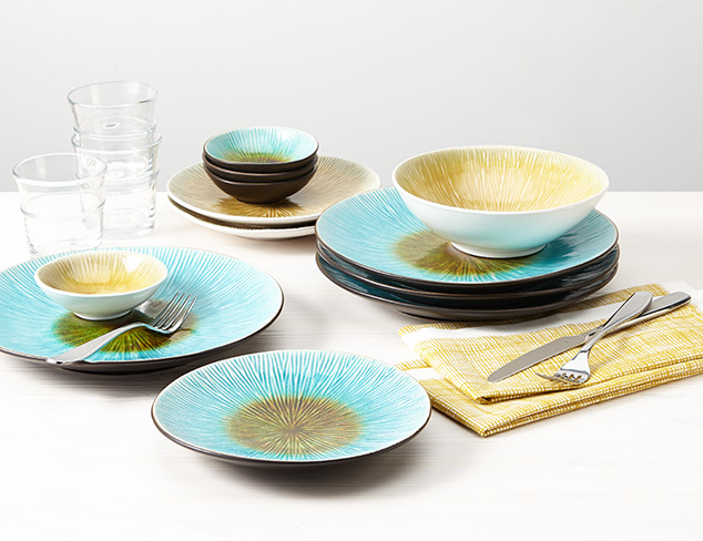 Perfectly Priced 16-Piece Dinnerware Sets at MYHABIT