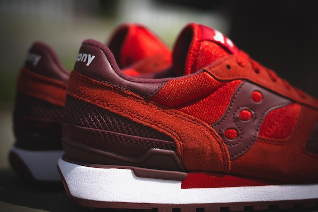 Saucony Shadow Original in Red Burgundy_4