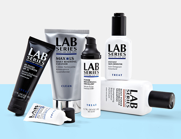 Showered & Clean Shaven feat. Lab Series at MYHABIT