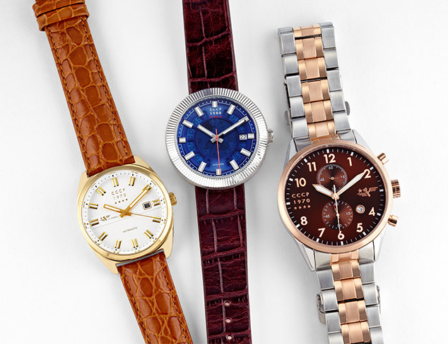 Sporty to Sleek Watches at MYHABIT