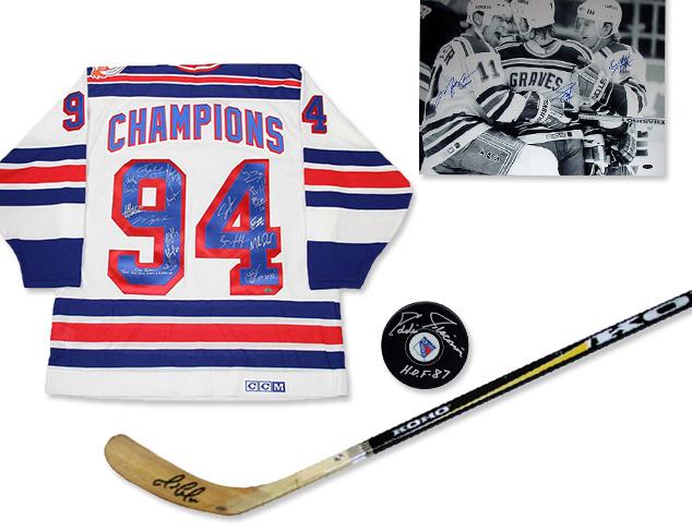 Steiner Sports Hockey Memorabilia at MYHABIT