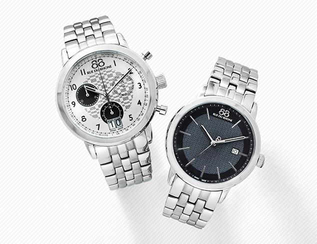 Swiss Made 88 Rue du Rhone Watches at MYHABIT