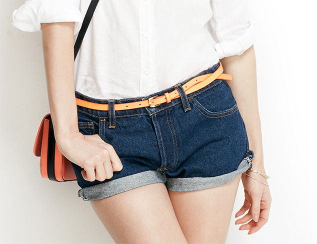 The Denim Shop Cropped, Shorts & More at MYHABIT