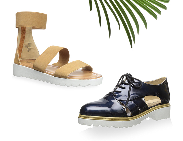 The Look For Less Flatforms & Sandals at MYHABIT