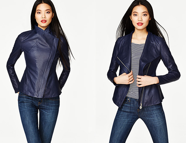 Weekend Style Leather & Faux Leather Jackets at MYHABIT