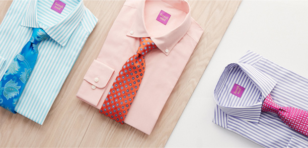 Enhance Your Suit: Shirts & Ties Featuring DKNY at Rue La La