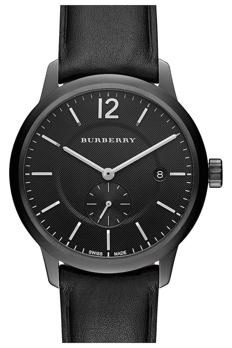 Burberry Textured Dial Watch