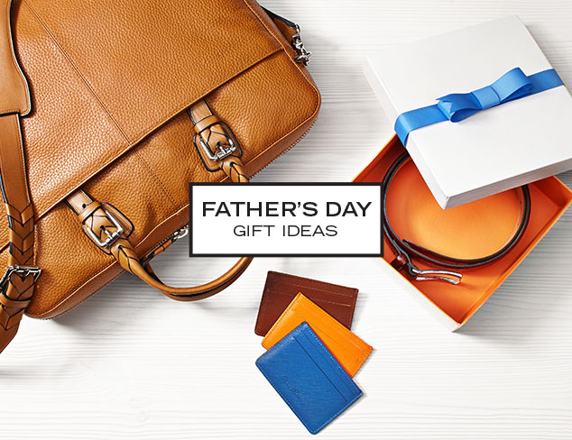 Father's Day Gifts Luxe Leather Goods at MYHABIT