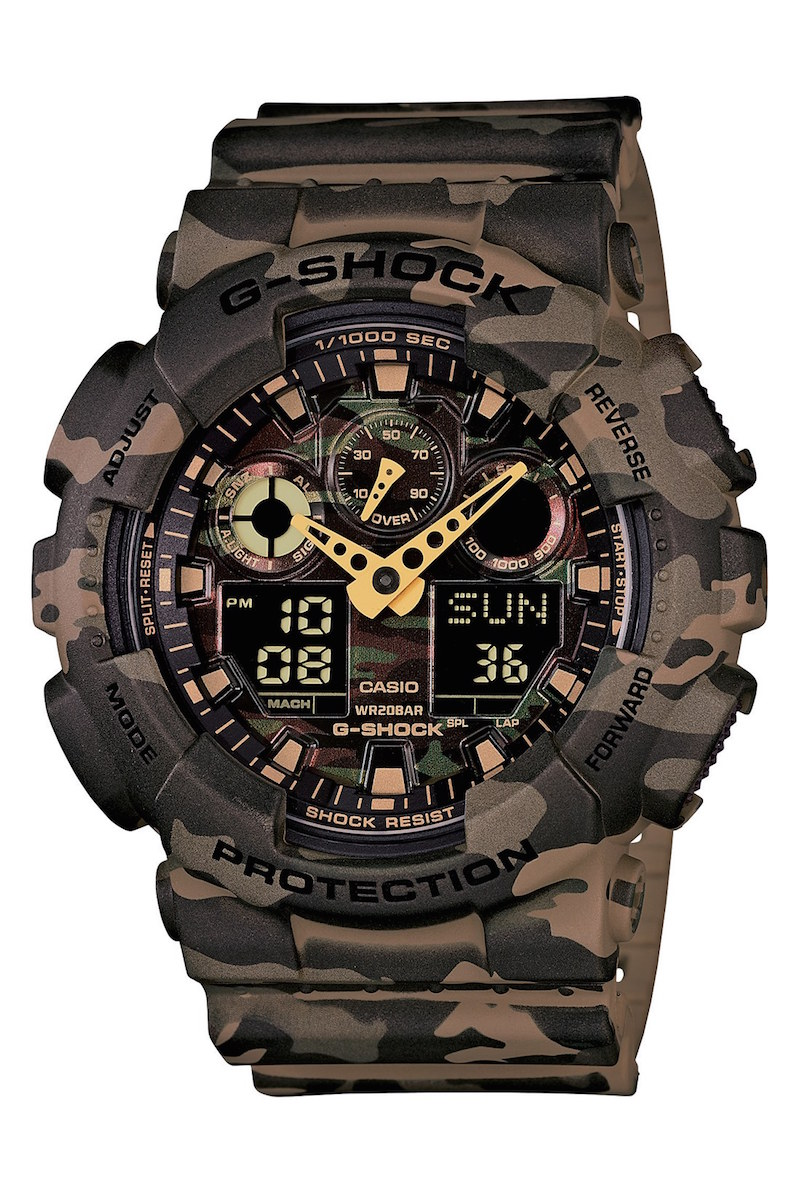 G-Shock XL Camouflage Pattern Ana-Digi Watch