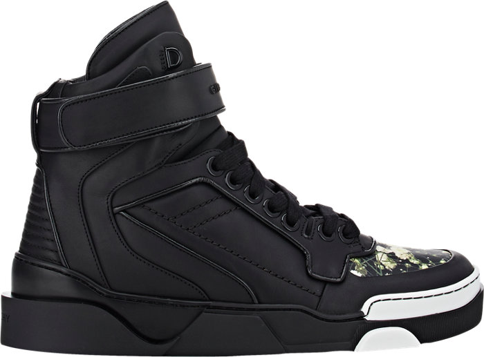 Givenchy Tyson Floral High-Top Sneakers_1
