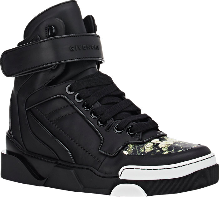 Givenchy Tyson Floral High-Top Sneakers_2