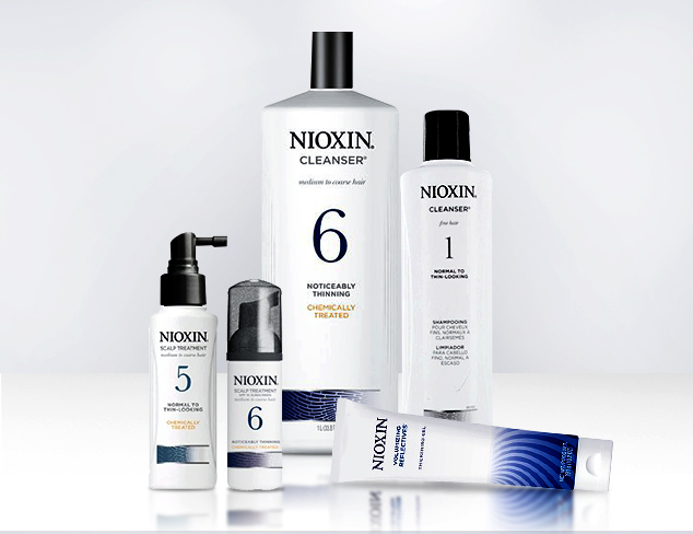 Combat Thinning Hair Nioxin at MYHABIT