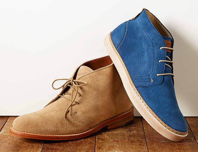 Everyday Style Chukka Boots at MYHABIT