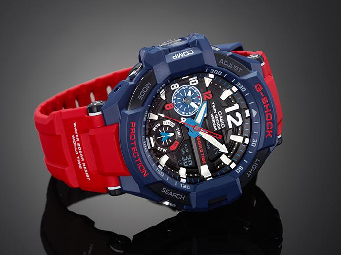 G-Shock GA-1100-2A Gravitymaster Resin Strap Watch_1