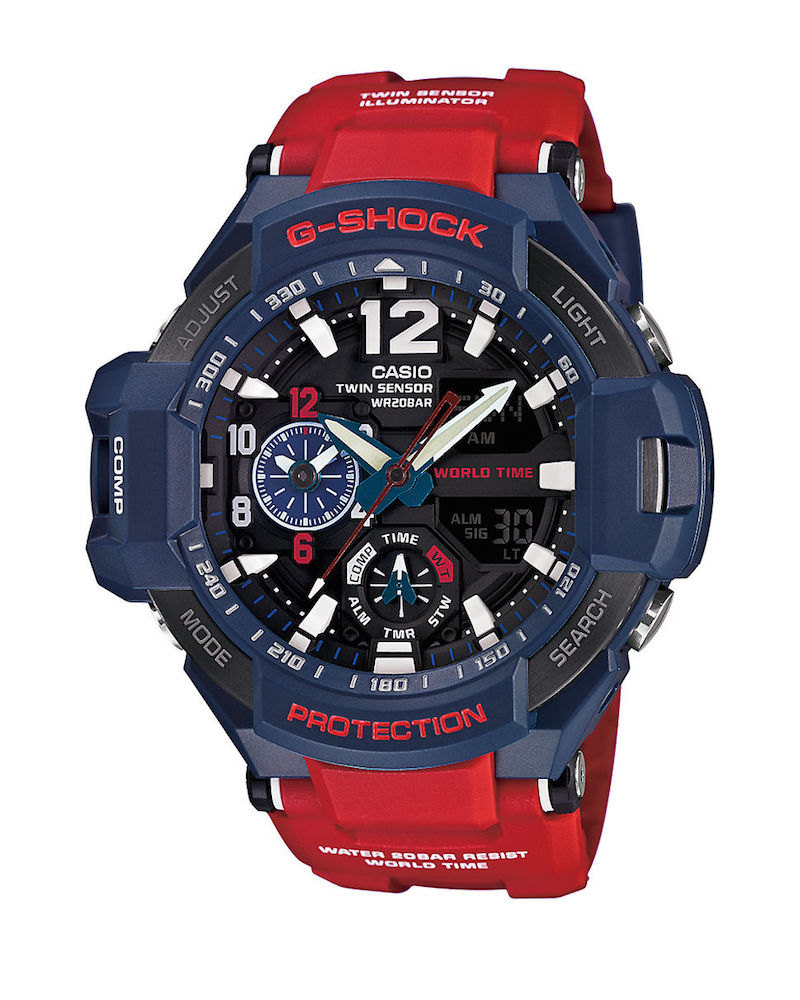 G-Shock GA-1100-2A Gravitymaster Resin Strap Watch_2