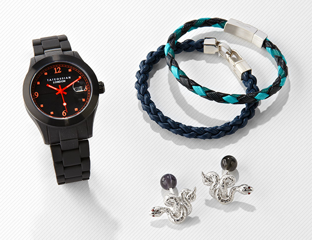 Jewelry, Watches & More by Tateossian at MYHABIT