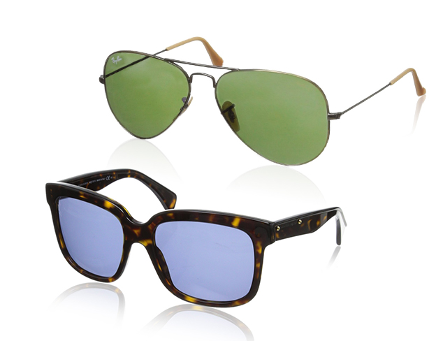 Modern Classics Sunglasses feat. Alexander McQueen at MYHABIT