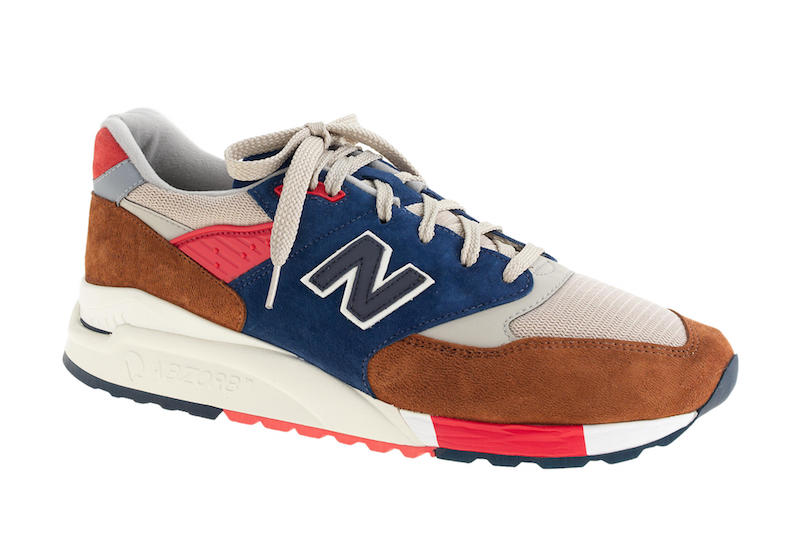 New Balance for J.Crew 998 Hilltop Blues Sneakers_1