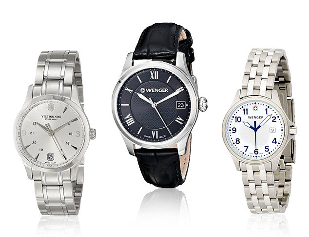 Swiss-Made Watches feat. Wenger at MYHABIT