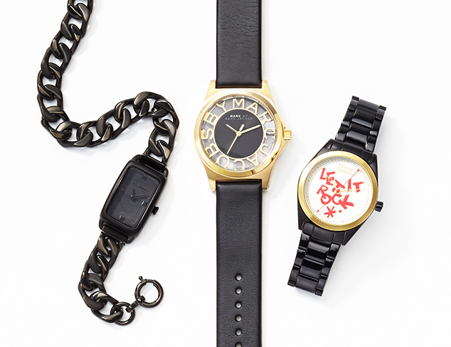 The Classic Black Watches at MYHABIT