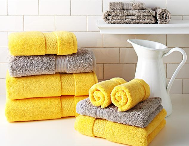 The Linen Closet 6-Piece Bath Towel Sets at MYHABIT