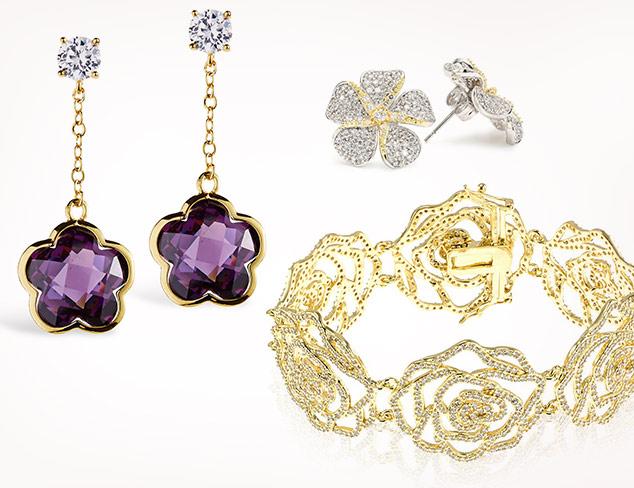 Goldtone & Floral Jewelry feat. Jardin at MYHABIT