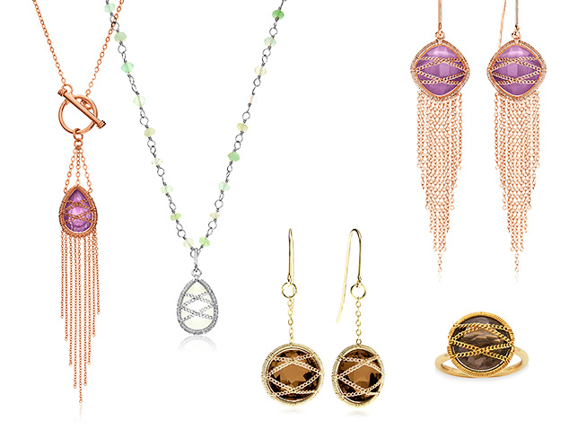 Hand-Wrapped Jewelry by Laurium Lynx at MYHABIT