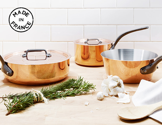 Made in France Linens, Cookware & More at MYHABIT