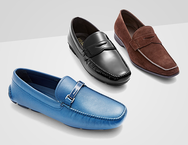 Prada & Ferragamo Shoes at MYHABIT