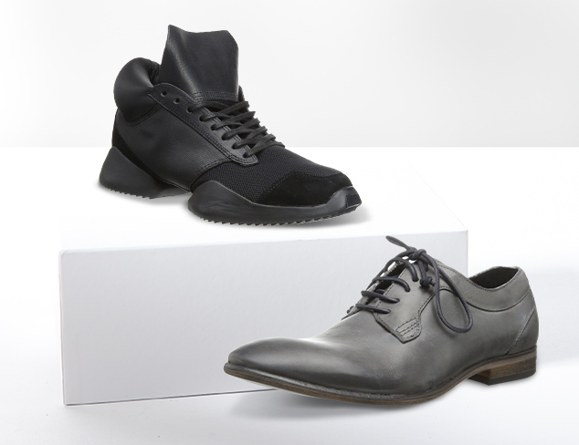 Rugged & Handsome Shoes feat. Rogue at MYHABIT