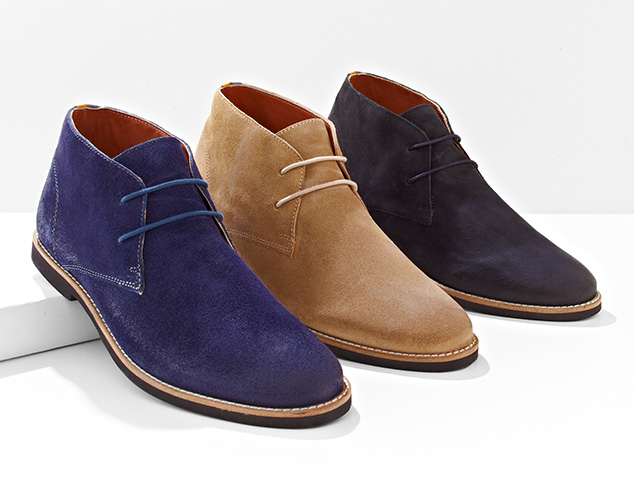 Summer Suedes Shoes & Boots at MYHABIT