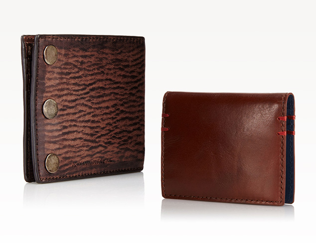 Wallets feat. Burberry at MYHABIT
