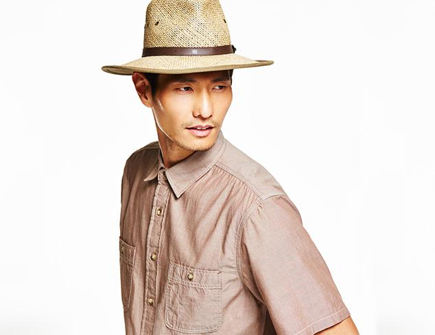 $29 & Under Straw Hats & More at MYHABIT