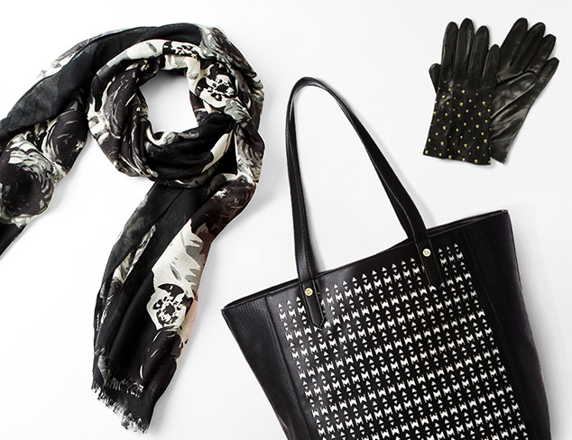 All in Black Handbags & Accessories at MYHABIT