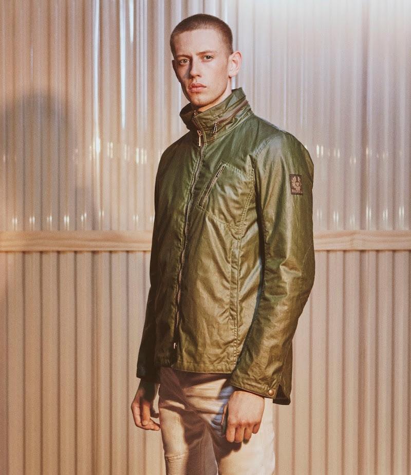 Belstaff Jacket With Tuckaway Hood