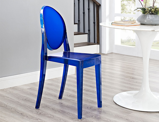 Design School Ghost Chairs at MYHABIT