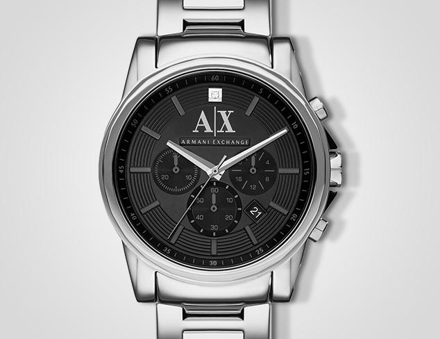 Designer Watches feat. Armani at MYHABIT