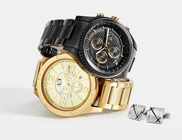 Distinguished Details Watches & Jewelry at MYHABIT