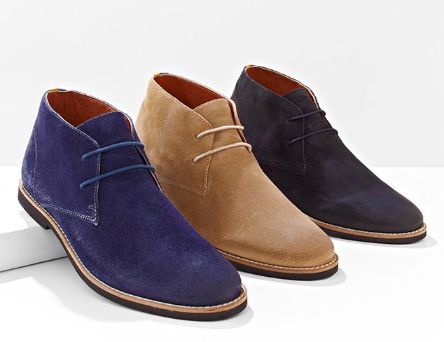 Downtown Style Chukkas & Boots at MYHABIT