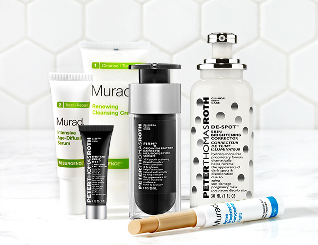 Flawless Complexion feat. Peter Thomas Roth at MYHABIT