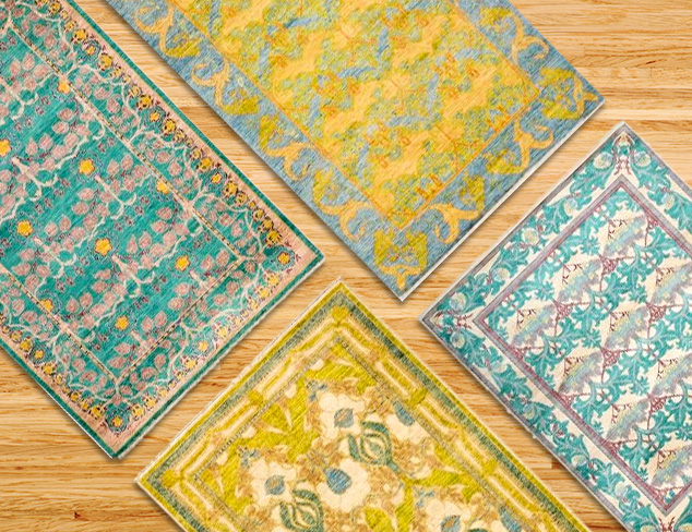 One-of-a-Kind Rugs New from Darya at MYHABIT