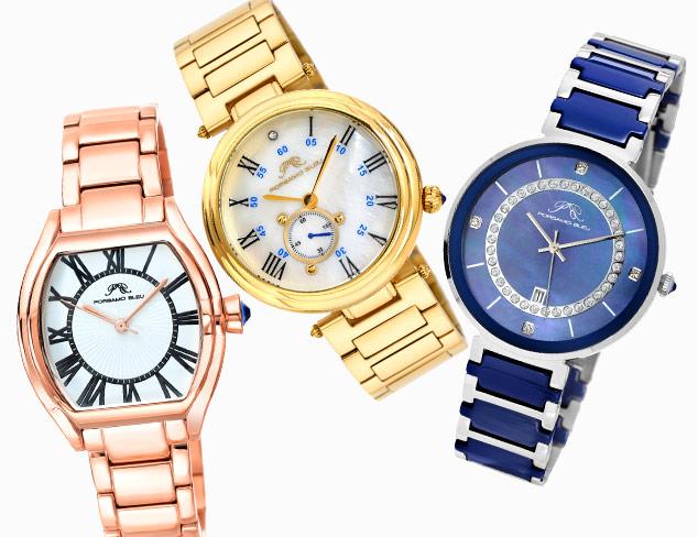Porsamo Bleu Watches at MYHABIT