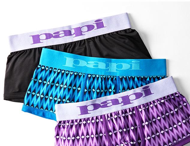 Underwear feat. Papi at MYHABIT
